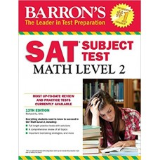 BARRON'S SAT MATH  LEVEL 2 12th edition