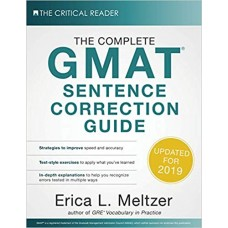 The Complete GMAT Sentence Correction Guide by Erica L. Meltzer