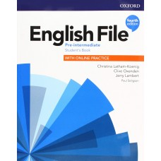 English File Pre-intermediate fourth edition with online practice