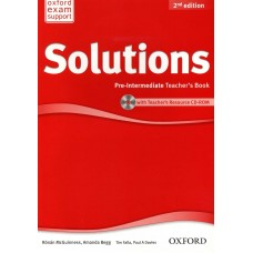 Solution second edition Pre-Intermediate Teacher's Book
