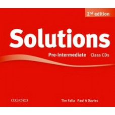 Solution second edition Pre-Intermediate Class Audio CDs