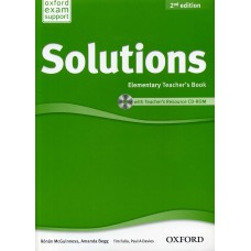 Solutions second edition Elementary Teacher's Book