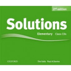 Solutions second edition Elementary Class Audio CDs